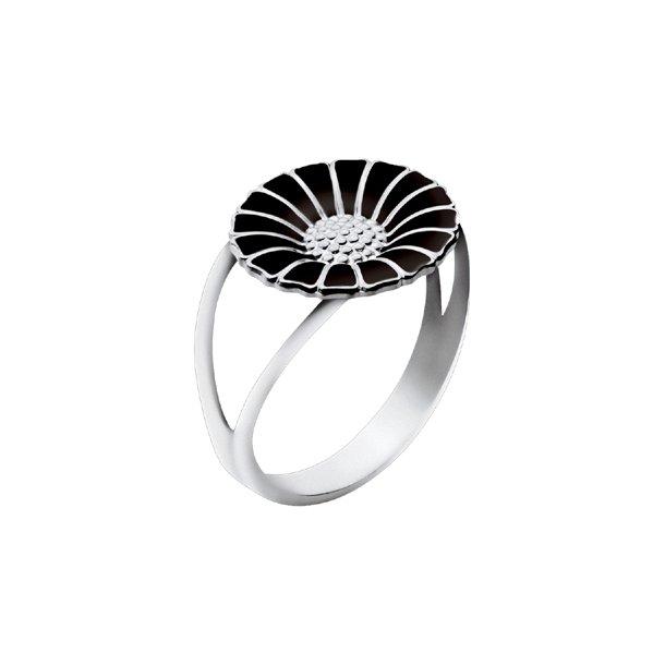 Sort Daisy Ring 11 mm
