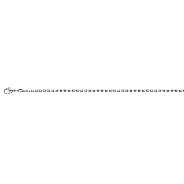 Sølv halskæde 0,40mm og 38cm