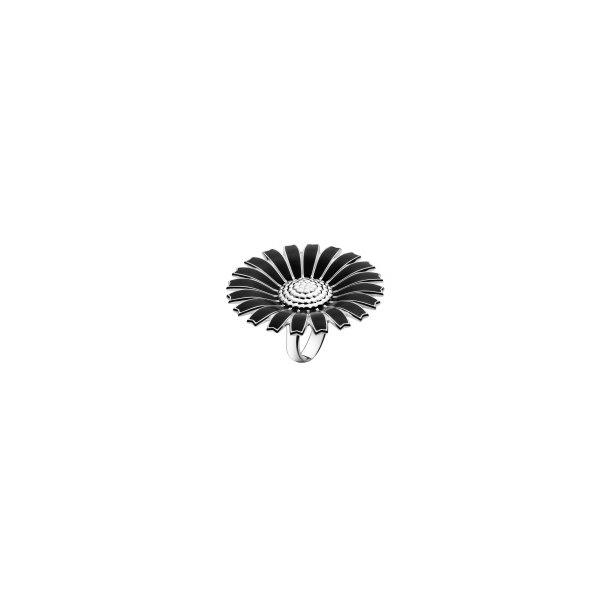 Daisy ring i sort 43 mm