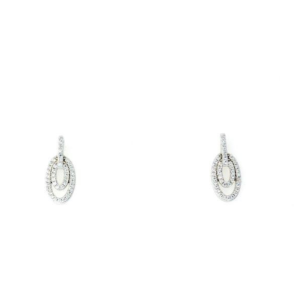 Melina Jewellery sølv ørering