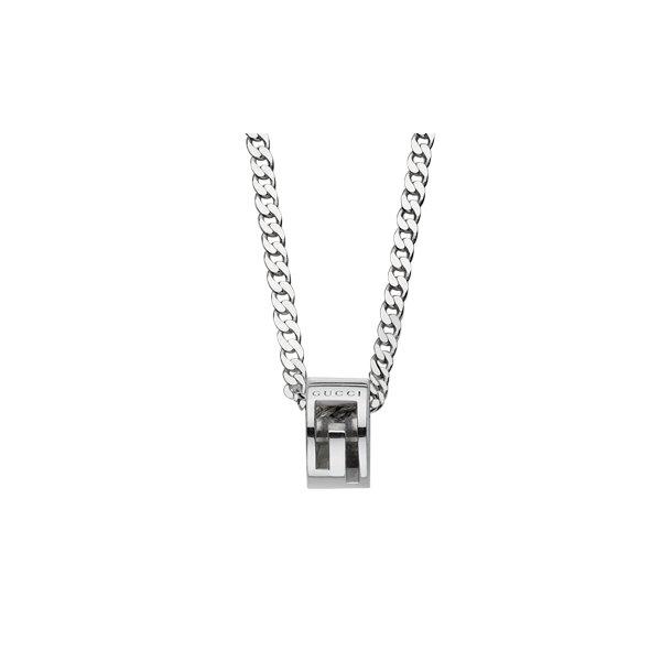 Sølv Gucci halskæde