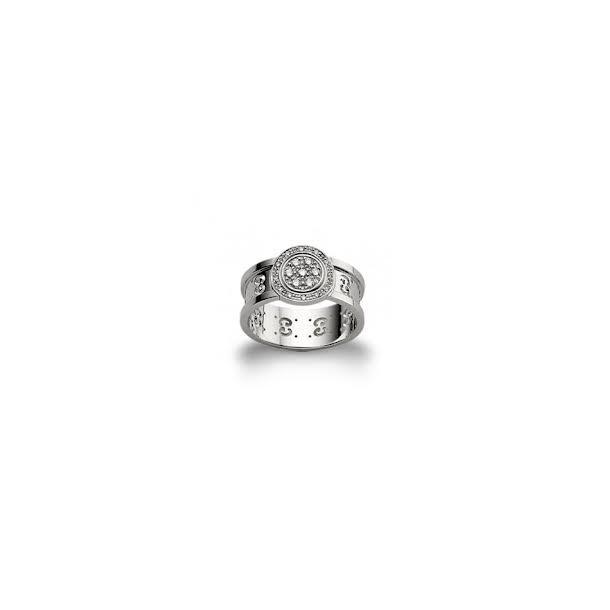 18 karat GUCCI ring med diamanter