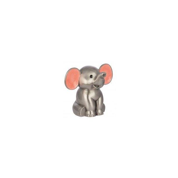 Fortinnet elefant sparebøsse