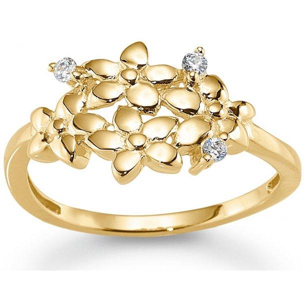 8 karat guld ring