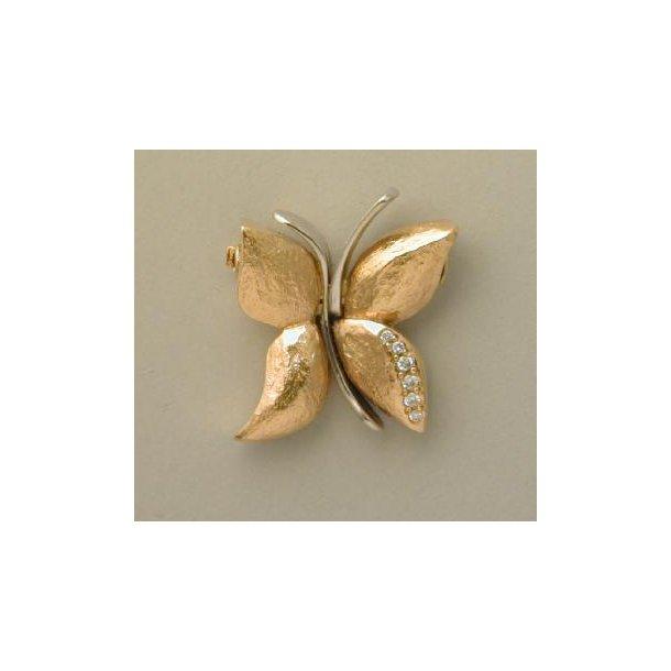 Per Borup sommerfugl perlelås.