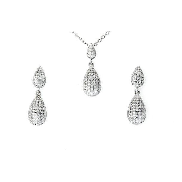 Sølv smykkesæt