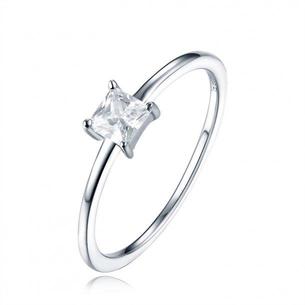 Klassisk ring i sølv