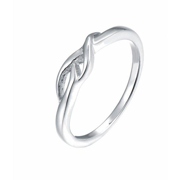 Lille enkel sølv ring