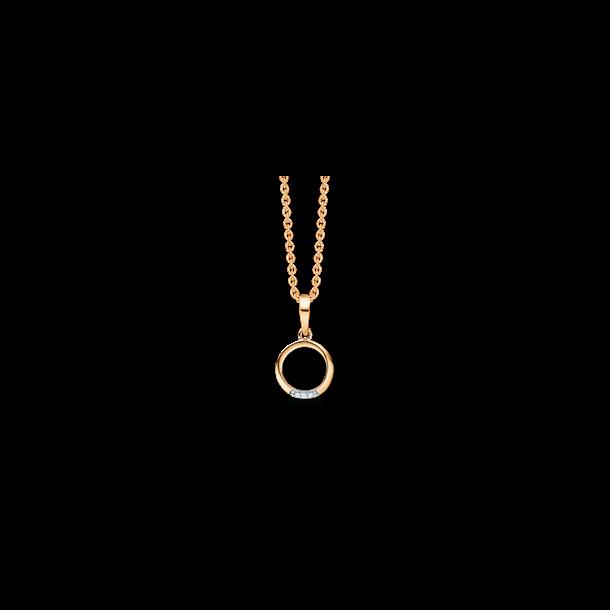 Cirkel guldhalskæde