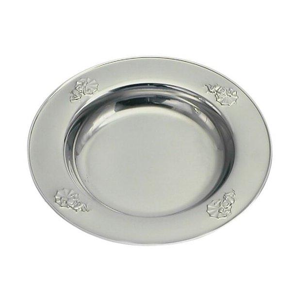 Ole lukøje stål tallerken