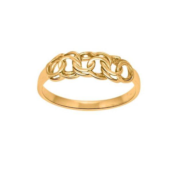 8 karat guld ring med bismarck