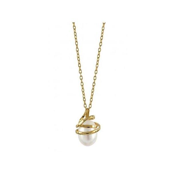 14 karat perle vedhæng